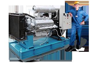 обслуживание дизельных генераторов в Новороссийске